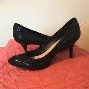 Calvin Klein Scale Textured Heels